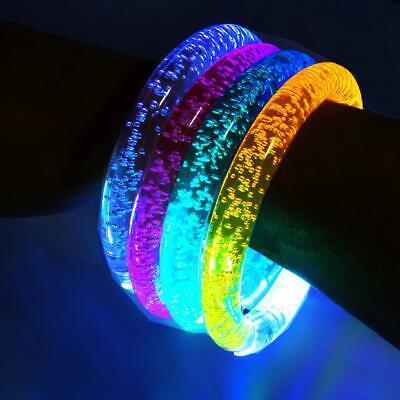 German Trendseller® LED Armreif - Leuchtarmband Blinklicht Schulweg Mitgebsel