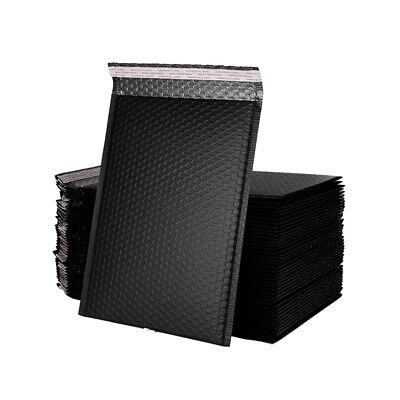 25 Pcs/set Black Poly Bubble Envelopes Storage Bag Postal Mailing Shipping Pouch