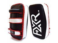 FXR SPORTS MUAY THAI KICK BOXING STRIKE ARM FOCUS PAD MMA PUNCH SHIELD MITT