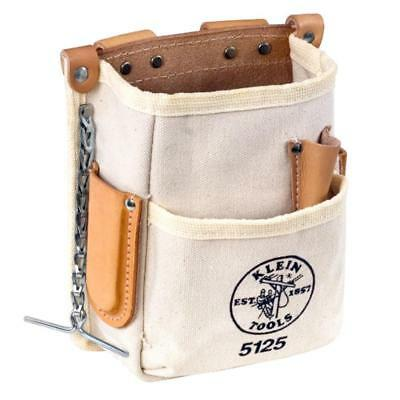 Klein Tools 5125 5-Pocket Tool Pouch-Canvas