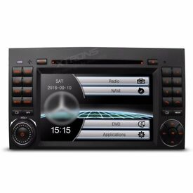 Mercedes Benz A B Class Sprinter Vito Viano Car Audio DVD USB SD Stereo Navigation Bluetooth Radio