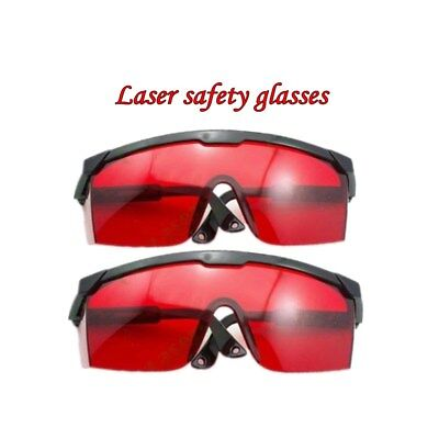 2x Safety Laser Glasses Goggles For 190-405532nm Greenblue Laser Pointer Us