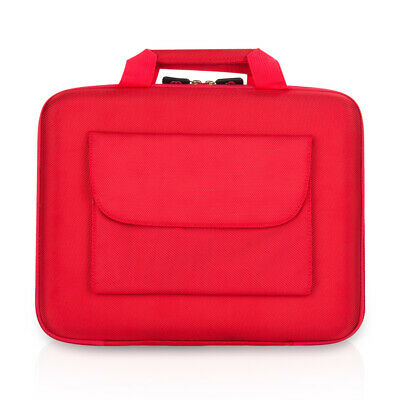 "Red Cube Laptop Notebook Sleeve Case Carry Bag Hard Shell For 12"" Apple MacBook"