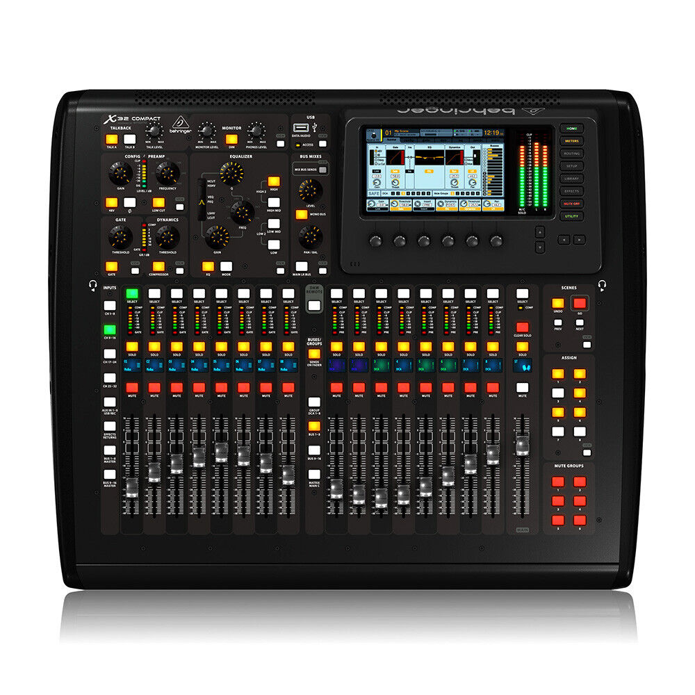 Behringer X32 COMPACT 32-Channel Digital Mixer Board Console 40-Input 25-Bus. Buy it now for 1799.99