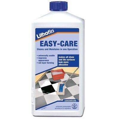 Lithofin Easy Care Regular Floor Maintenance Cleaner 1ltr for tiles and stone
