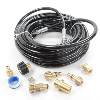 Pressure Parts 8102.1670.00 Sewer Line And Drain Jetter Kit 316 X 50 Hose Wi