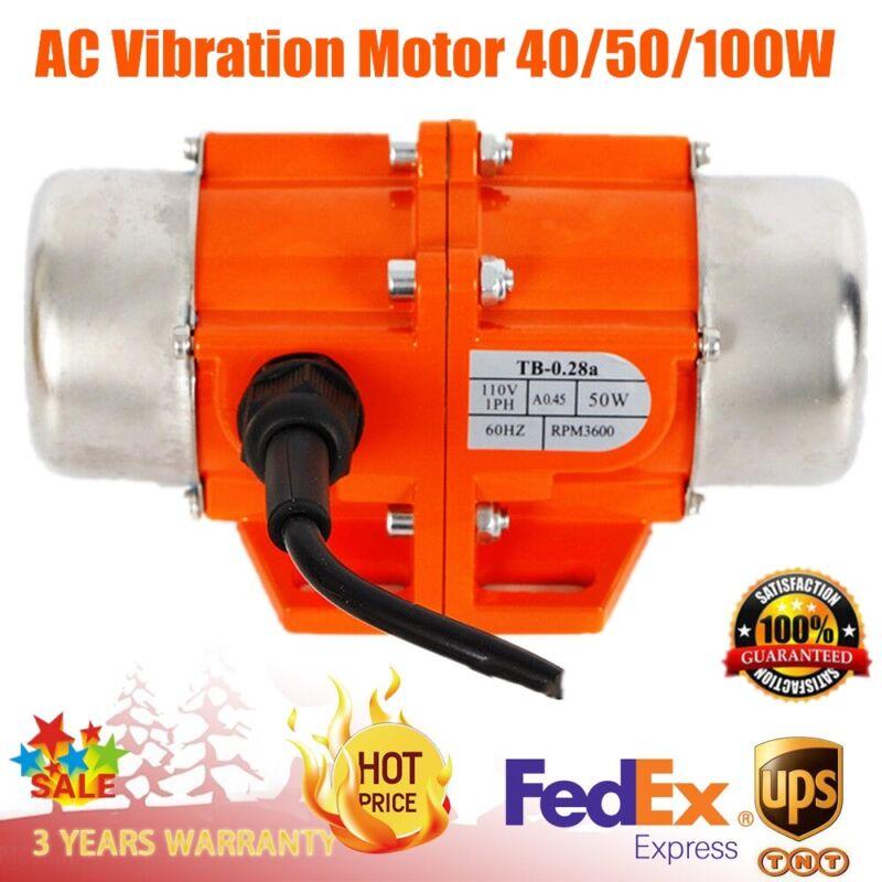 Concrete Vibrator AC Vibration Motor 40/50/100W Vibrating Asynchronous Vibrator