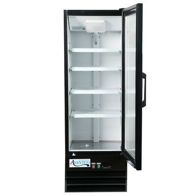 Commercial Display Merchandiser Refrigerator Cooler Glass Door W Led Lighting