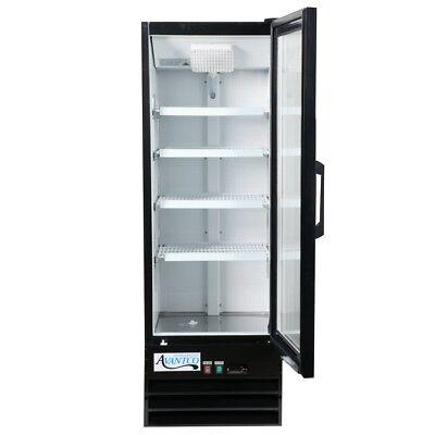 Commercial Display Merchandiser Refrigerator Cooler Glass Door W Led Lighting