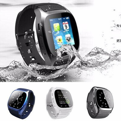 Waterproof Bluetooth Smart Watch Mate Wrist For Android HTC Samsung iPhone iOS