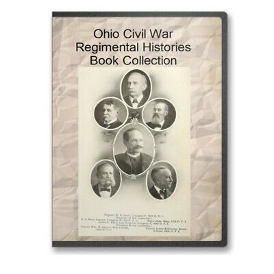 Ohio OH Civil War Regiment Regimental History Genealogy Infantry 67 Books C535