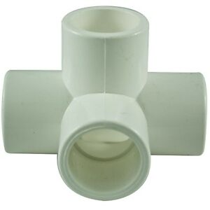 4-Way-15mm-PVC-Pipe-Cage-Fittings-Connectors-for-Furniture-Projects