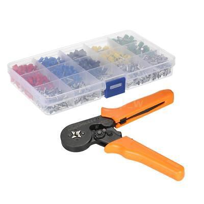 Wire Crimper Ferrule Crimping Pliers 1640pcs Cord Pin End Crimp Terminals U4f7