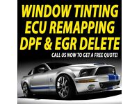 ** FROM £49.95 ** CAR WINDOW TINTING \ ECU REMAPPING \ DPF & EGR DELETE