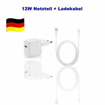 12W Original GT Netzteil für Apple iPad Air 1 2 3 Ladegerät Adapter + Ladekabel ()