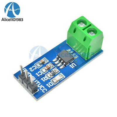2pcs New Design 5a Range Current Sensor Module Acs712 Module Arduino Module