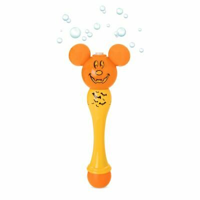 Disney Authentic Mickey Mouse Halloween Bubble Light Up Wand Accessory NEW