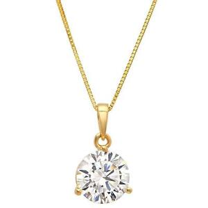Diamond necklace ebay diamond solitaire necklaces aloadofball Image collections