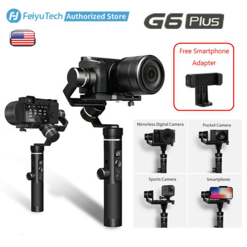 Feiyu G6 Plus 3-Axis Handheld Gimbal Stabilizer for Phones/G
