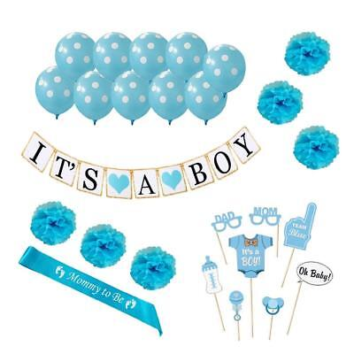 BEST Baby Shower Party Supplies Decorations IT'S A BOY! Gender Reveal Blue Theme - Best Theme Parties
