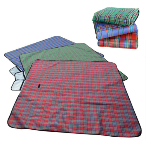 Outdoor Waterproof Picnic Mat Blanket Pad Folding Camping Be