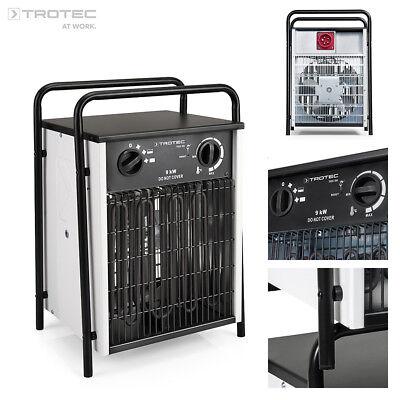 TROTEC TDS 50 Calefactor eléctrico portátil, Aerotermo, Generador con 9 kW