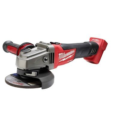 Milwaukee 2781-20 M18 Fuel 4-12 5 Grinder Slide Switch Lock-on Tool Only