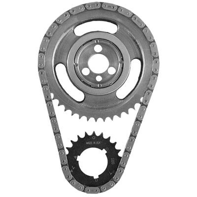(SA GEAR 78100T Timing Chain Set Chevy V8 SBC .250 Double Roller w Thrust Bearing)