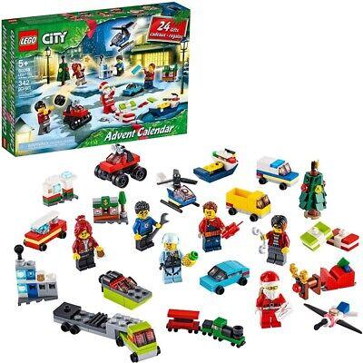 Lego City 2020 Advent Calendar 60268 Playset, Miniature Builds, City Play Mat