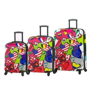 Mia Toro International Love 3pc, International Love Print