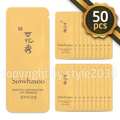 [Sulwhasoo] Essential Rejuvenating Eye Cream EX 1ml x 50pcs (50ml) Amore Pacific
