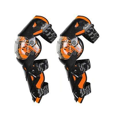 Motocross Knieschoner / MX Knieprotektoren XGP orange
