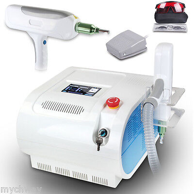 Q-switch Nd Yag Laser Tattoo Removal 1064532nm Freckle Eyebrow Pigment Remover