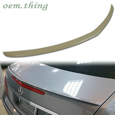 Unpainted Mercedes Benz C207 E-Class 2D Coupe A Type Trunk Spoiler E350 2016