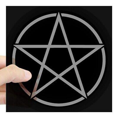 Home Decoration - CafePress Black Pentacle Sticker Square Sticker  (856275683)