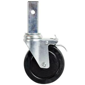5 in. Casters for Jobsite Series 6 ft. Baker Scaffold 4 PACK (MetalTech/Pro-Series/Werner/Can-Pro) NEW