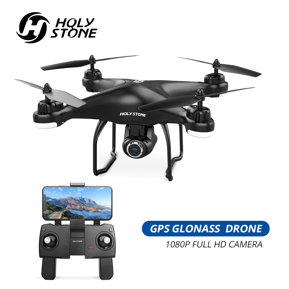 Holy Stone HS120D GPS Drone FPV 1080p HD Camera Profissional Wifi RC Drones