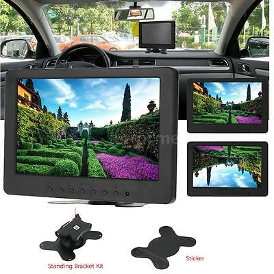 "7"" TFT LED HD Color Monitor Screen Display AV BNC VGA Input for PC CCTV Cam Z2Y8"