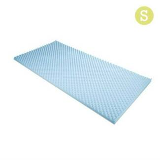 Gel Infused Egg Crate Mattress Topper  - Single