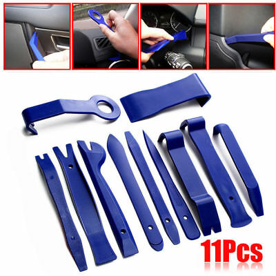 11Pcs Plastic Universal Panel Removal Open Pry Car Accessories Tools Trim Kit