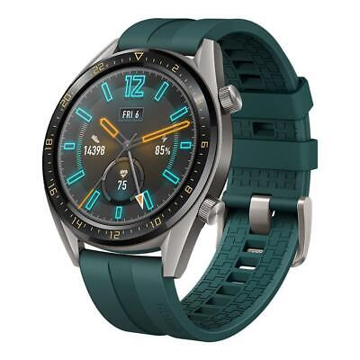 BRAND NEW HUAWEI FTN-B19 WATCH GT 46MM GPS SMART WATCH AMOLED - DARK GREEN