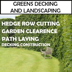Garden Services - Greens Decking and Landscaping