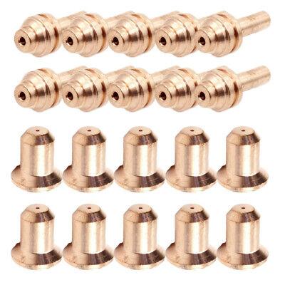 20x Plasma Torch Kit 176656 Tip 176655 Electrodes For Miller 25c 27c 375xtreme