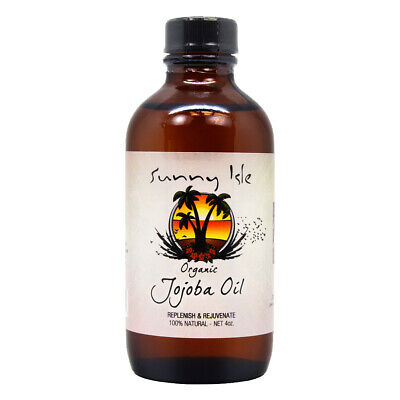 Sunny Isle Jamaican Organic jojoba oil with Black Castor Oil