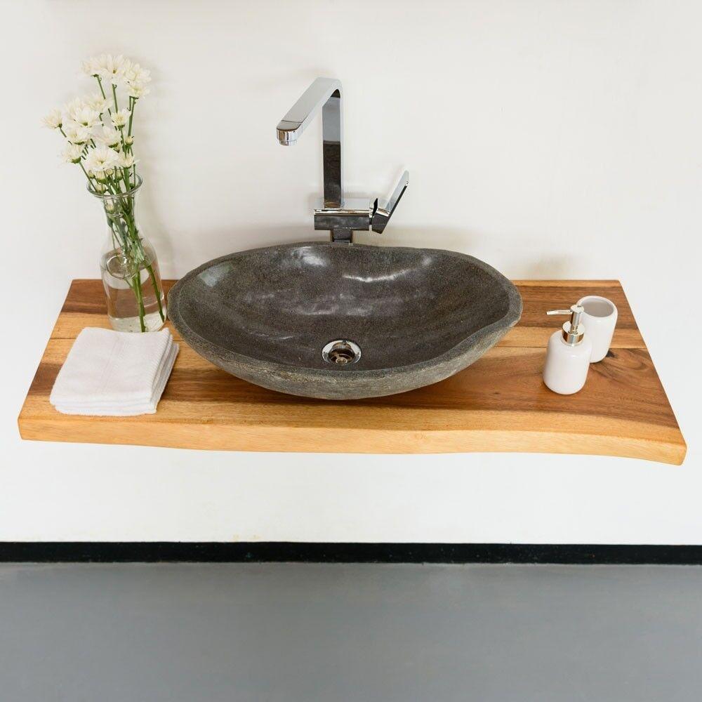 Waschtisch Mit Unterschrank Naturstein Waschbecken Ebay