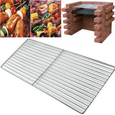 Stainless Steel BBQ Grill Net Rack Brick Barbecue Replacement Cooking Grid Grate
