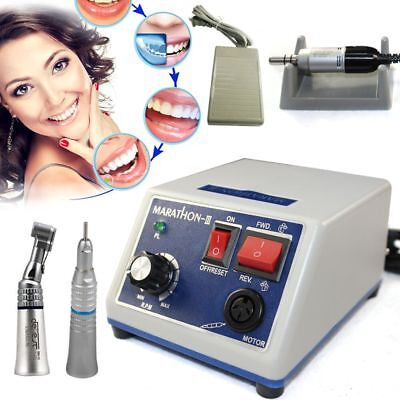 Laboratorio Dental Micromotor 35K RPM N3 Micro Motor eléctrico Maratón NEW 220V