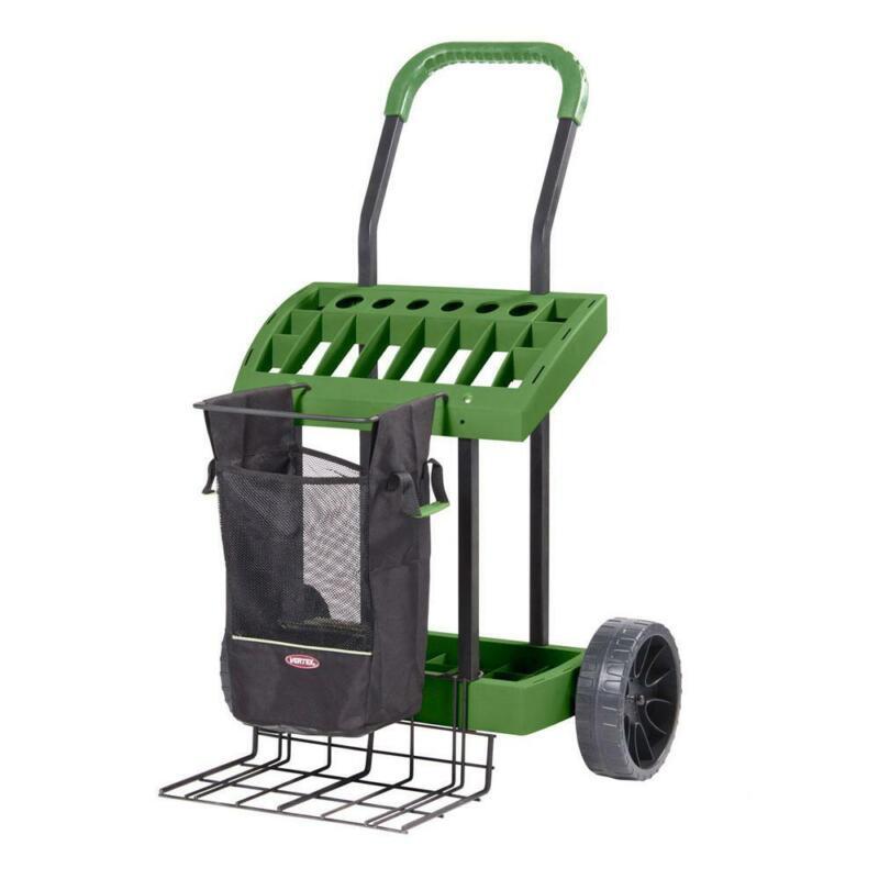 Yard Cart Super Duty Lawn Garden Tool Box Wheels Heavy Duty