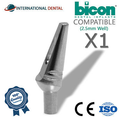 Bicon Compatible 15 Non-shouldered Abutment 2.5mm Well Dental Implant