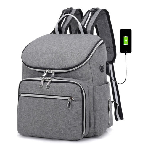 Mummy Mom Diaper Bag Backpack Large Maternity Baby Nappy Bag